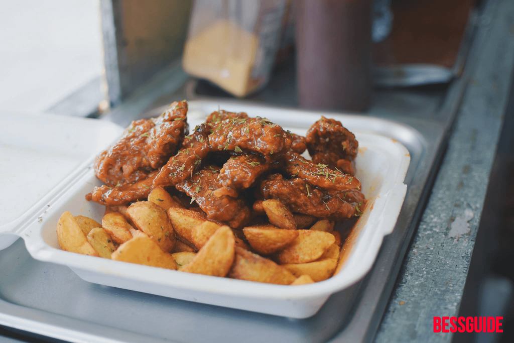 Bessguide - Trini Cravings Food Truck BBQ Wings and Wedges 3