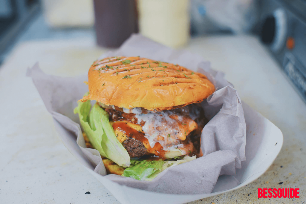 Bessguide - Trini Cravings Food Truck Hit D Spot Burger 3