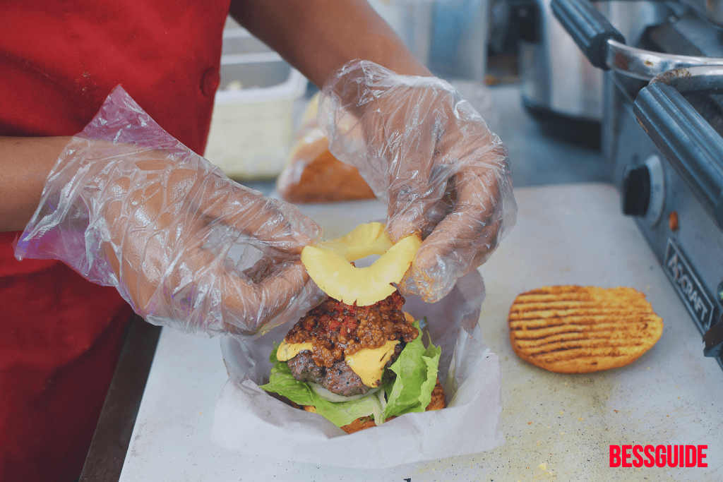 Bessguide - Trini Cravings Food Truck Hit D Spot Burger 4